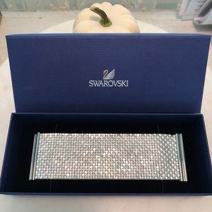 Swarovski Mesh Cuff Bracelet